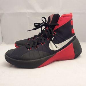 Nike Hyperdunk 2015 Black Red Basketball Shoes